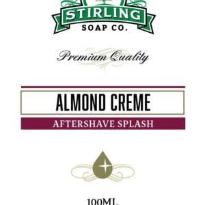 Almond Creme Aftershave Splash