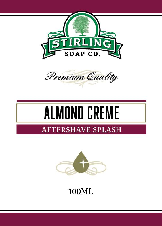 Almond Creme Aftershave Splash
