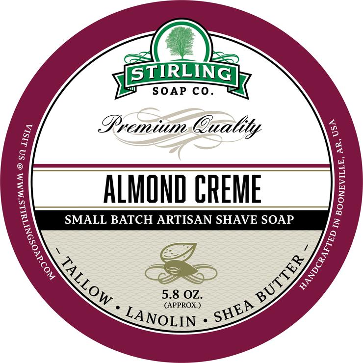Almond Creme Shaving Soap