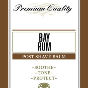 Bay Rum Post Shave Balm