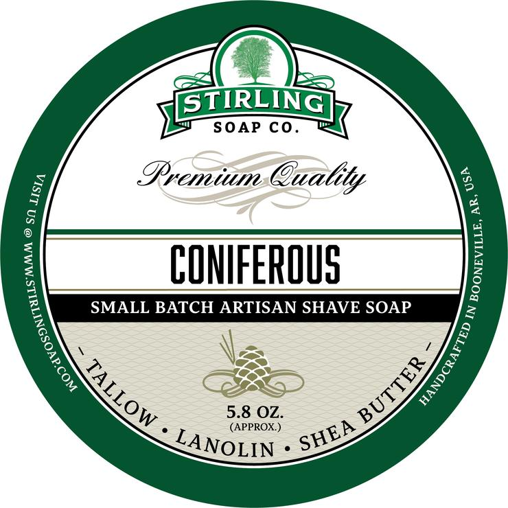 Coniferous Shaving Soap
