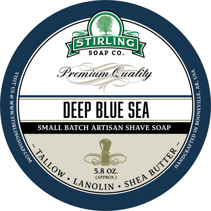 Deep Blue Sea Shaving Soap