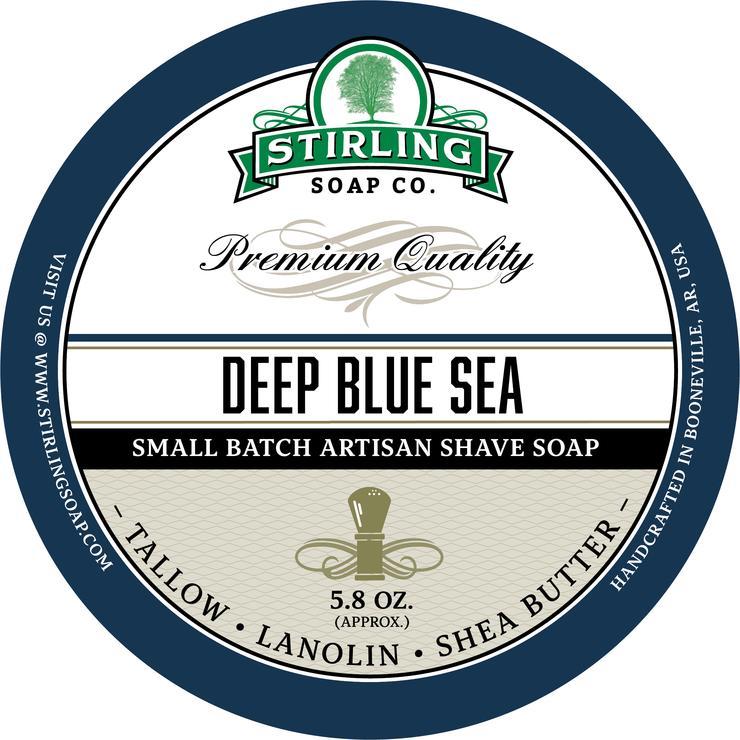 Deep Blue Sea Shaving Soap