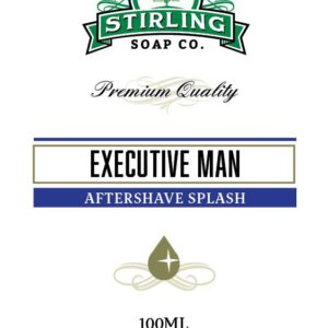 Executive Man Aftershave Splash