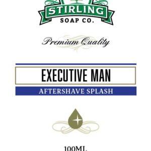 Executive Man Aftershave Splash