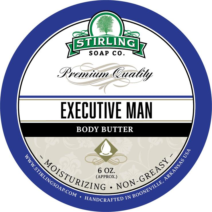 Executive Man Body Butter