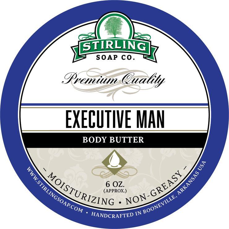 Executive Man Body Butter