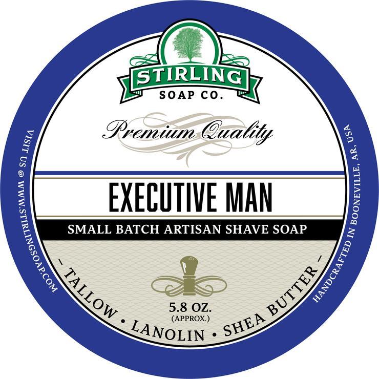 Executive Man Shaving Soap