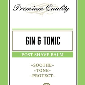 Gin & Tonic Post Shave Balm