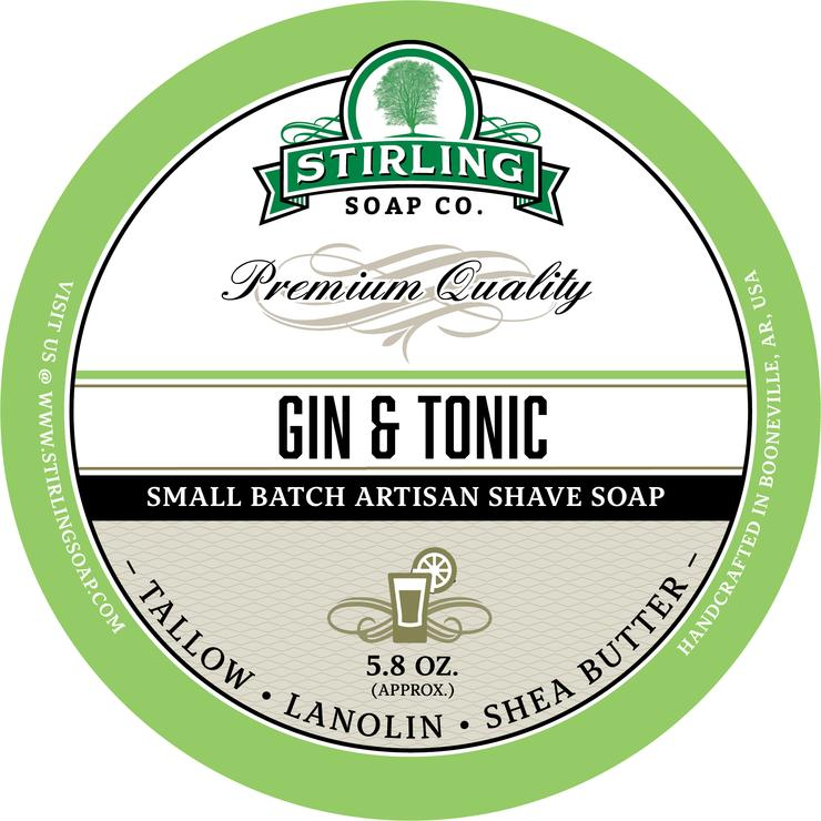 Gin & Tonic Shaving Soap