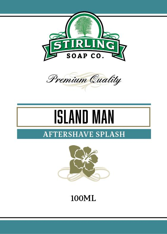 Island Man Aftershave Splash