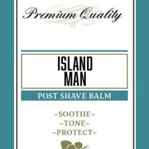 Island Man Post Shave Balm
