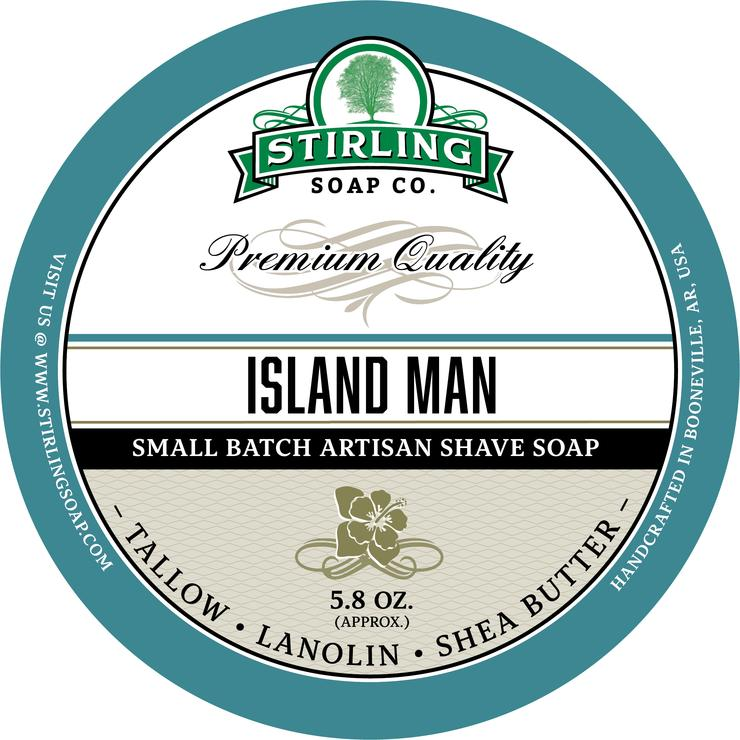 Island Man Shaving Soap