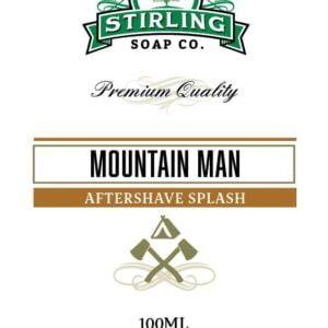 Mountain Man Aftershave Splash