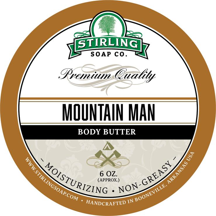 Mountain Man Body Butter