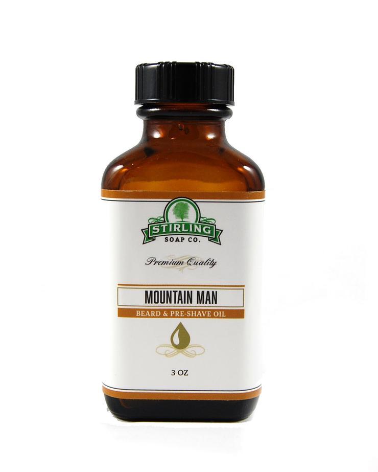 Mountain Man - Beard & Pre-Shave Oil