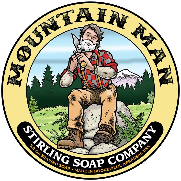 Mountain Man Shaving Soap