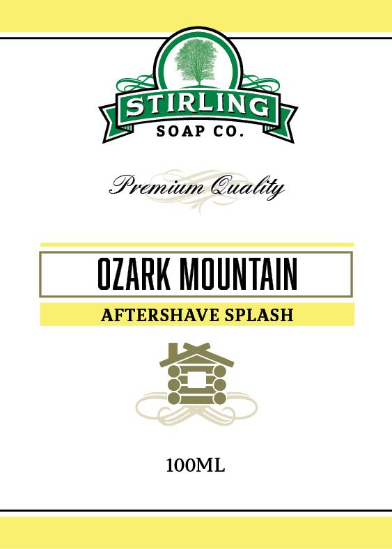 Ozark Mountain Aftershave Splash