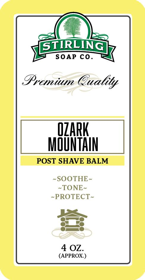 Ozark Mountain Post Shave Balm