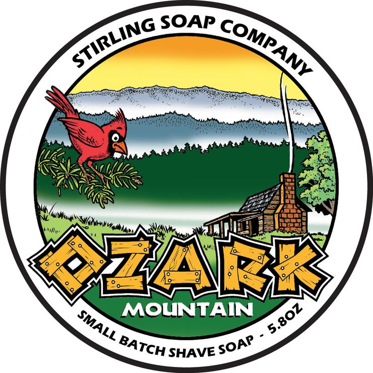 Ozark Mountain Shaving Soap