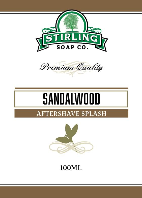 Sandalwood Aftershave Splash