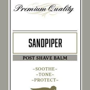 Sandpiper Post Shave Balm