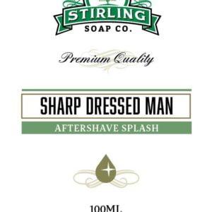Sharp Dressed Man Aftershave Splash