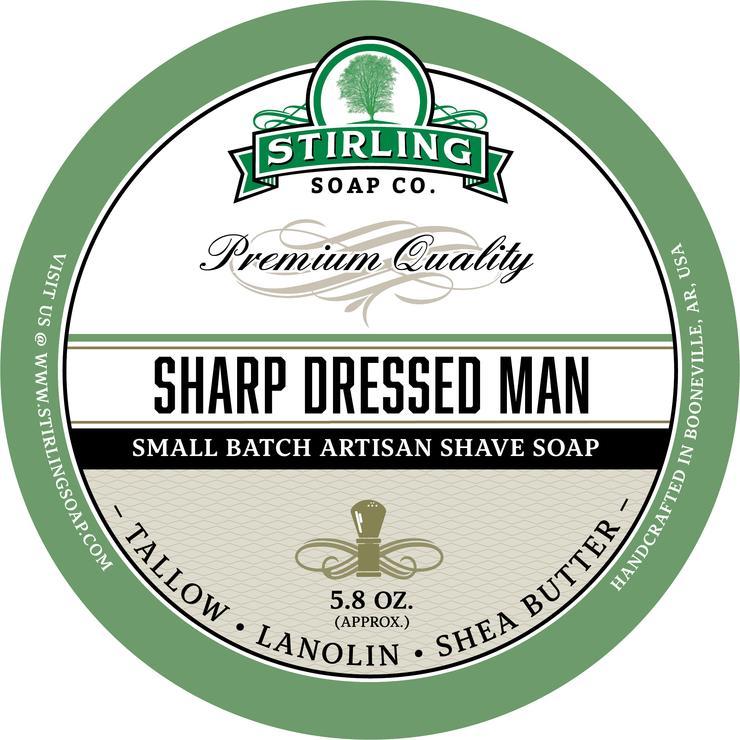 Sharp Dressed Man Shaving Soap