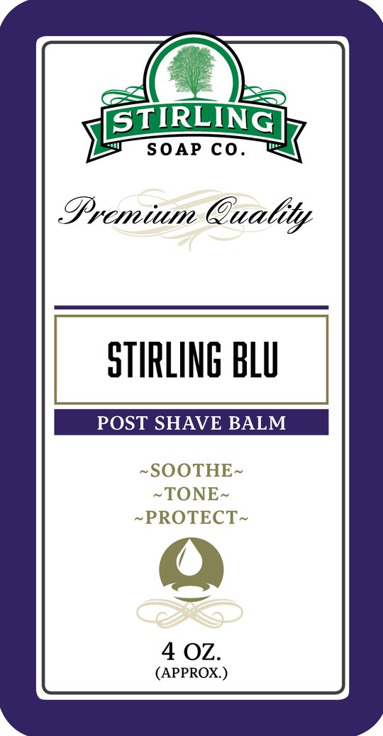 Stirling Blu Post Shave Balm