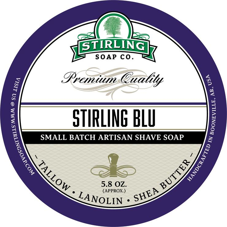 Stirling Blu Shaving Soap