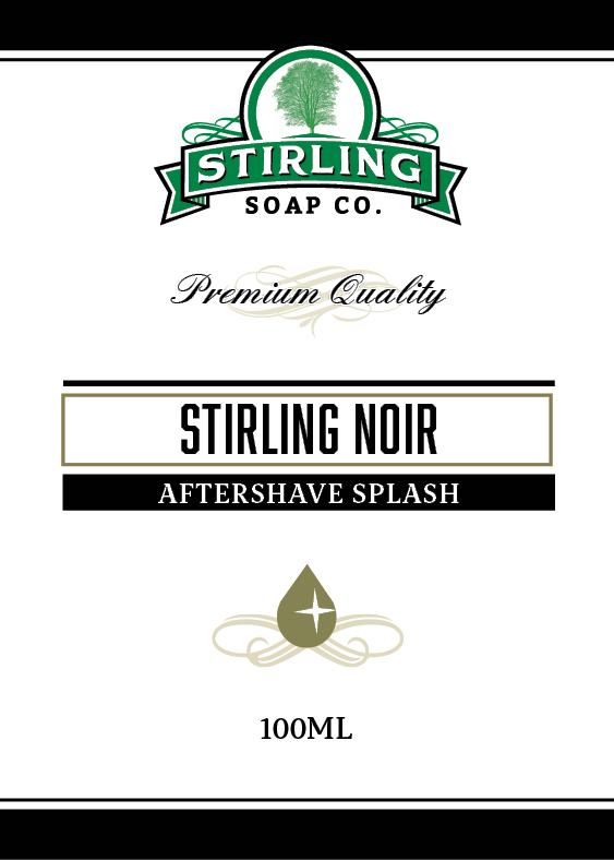 Stirling Noir Aftershave Splash