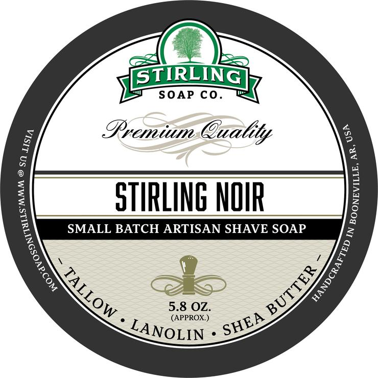 Stirling Noir Shaving Soap