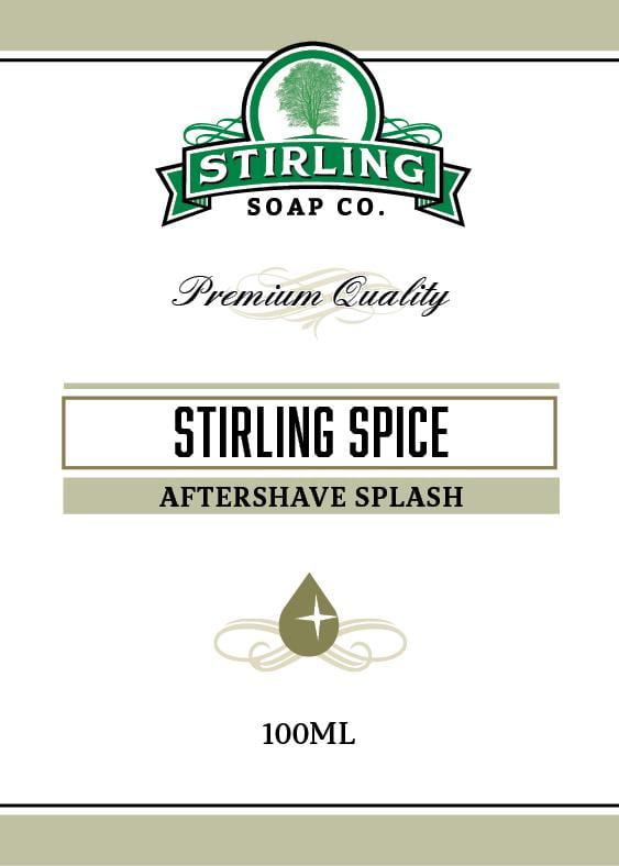 Stirling Spice Aftershave Splash