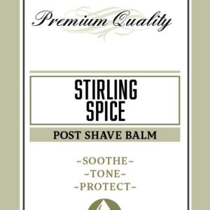Stirling Spice Post Shave Balm