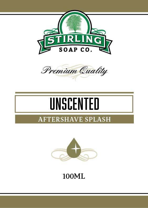 Unscented Aftershave Splash