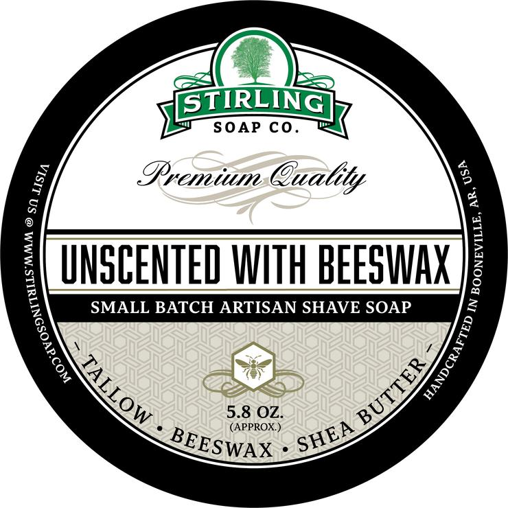 Unscented with Beeswax