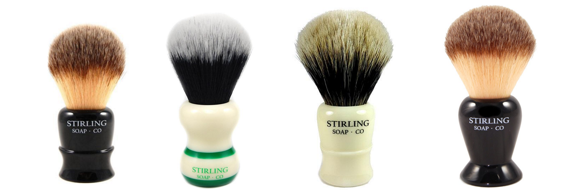 Stirling Shave Brushes