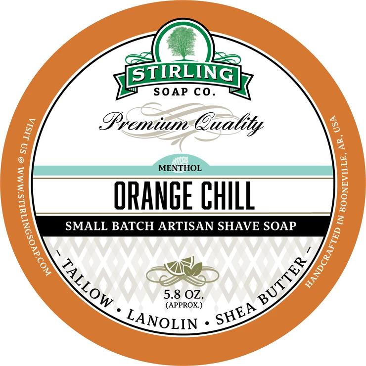 Orange Chill Shaving Soap