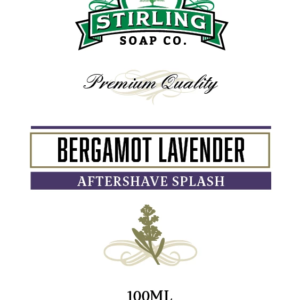 Bergamot Lavender Aftershave Splash