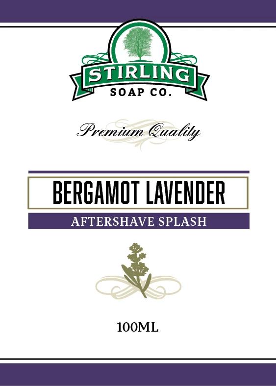 Bergamot Lavender Aftershave Splash