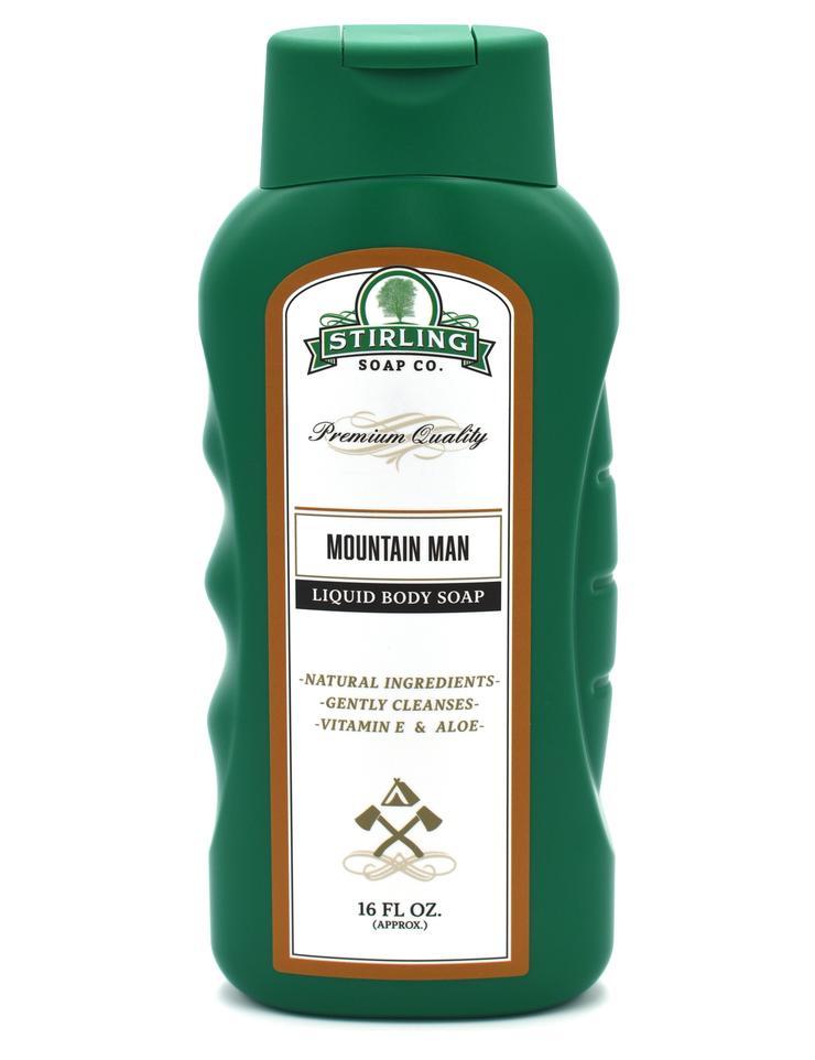Mountain Man Liquid Body Soap