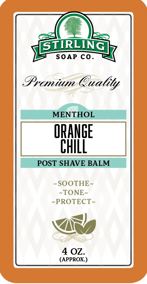 Orange Chill Post-Shave Balm
