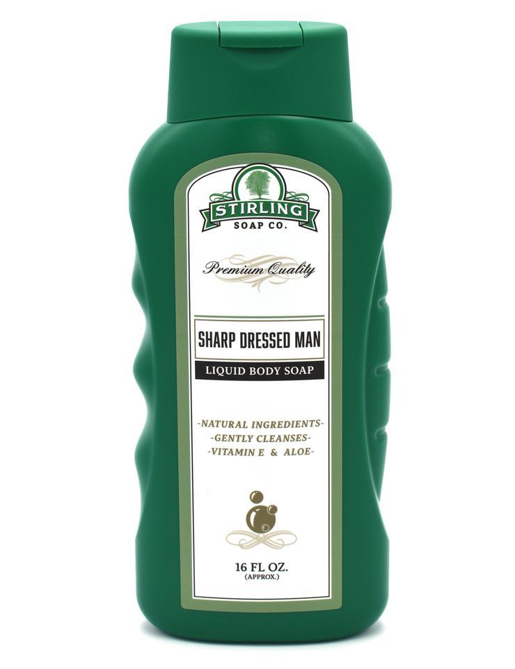 Sharp Dressed Man Liquid Body Soap