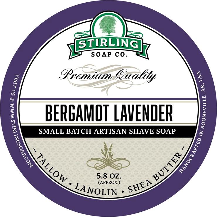 Bergamot Lavender Shaving Soap