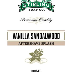 Vanilla Sandalwood Aftershave Splash