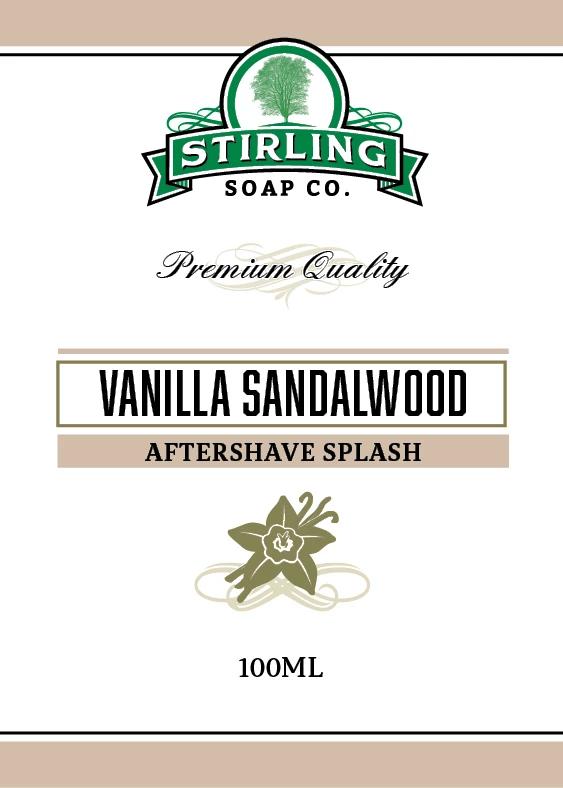 Vanilla Sandalwood Aftershave Splash