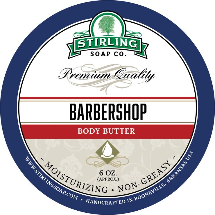 Barbershop Body Butter
