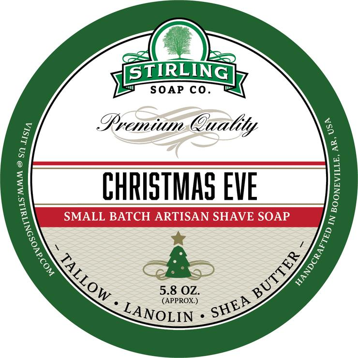 Christmas Eve Shaving Soap