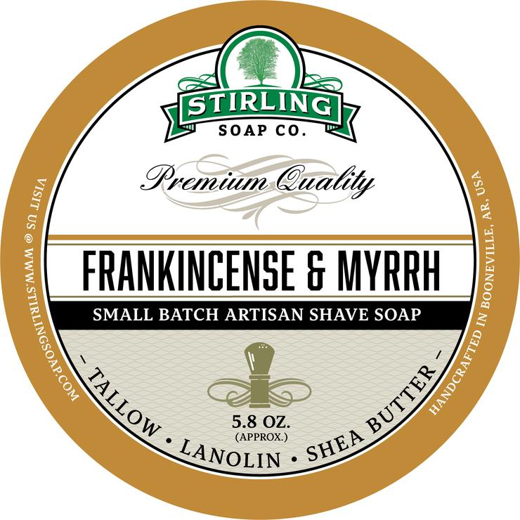 Frankincense & Myrrh Shaving Soap