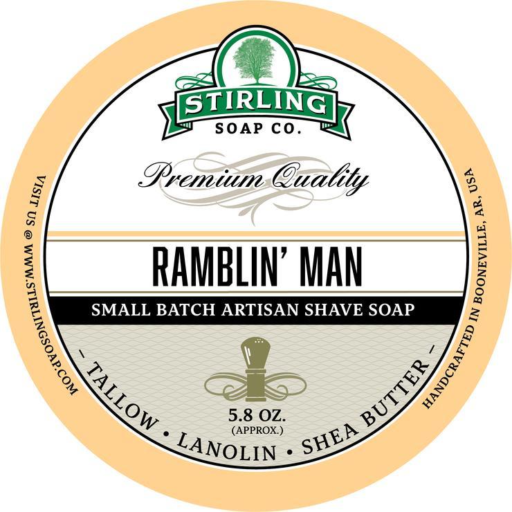 Ramblin' Man Shaving Soap